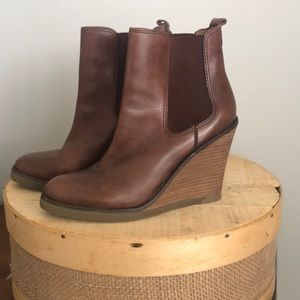 Like New Lucky Brand booties Size 8